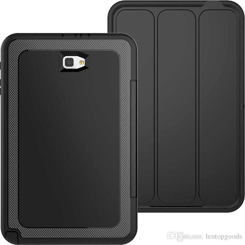 ead2e60a59b ... Funda con tapa inteligente para Samsung Galaxy Tab A 10.1 P580N T585C  T580 SM-T580 ...