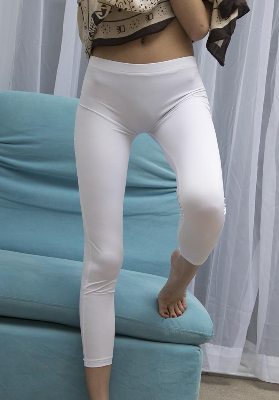 Silk Ice New Sexy Refe One-Piece Leggings см. Анд прозрачные штаны через белье клуб носить передний карандаш эротический бесшовные окуп