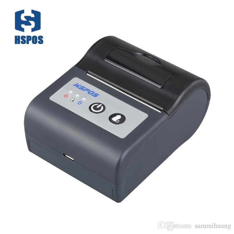 تسمية الطابعة الحرارية المحمولة للماء WIFI 2 بوصة 58 مم USB سرعة الطباعة العالية
