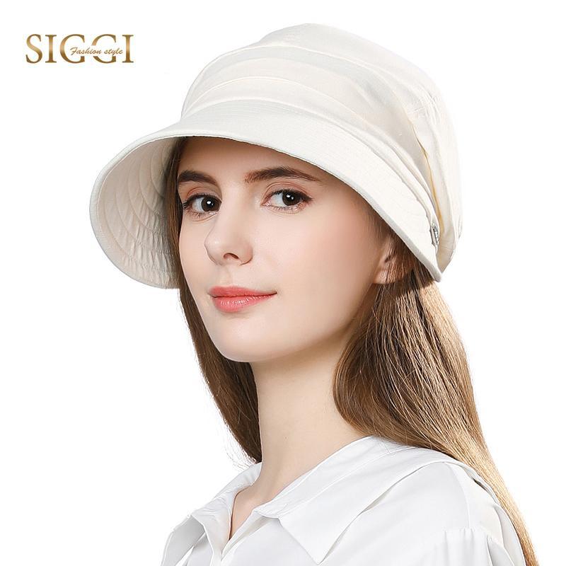 Siggi Womens UPF50 Summer Sunhat Bucket Packable Wide Brim Hats w//Chin Cord