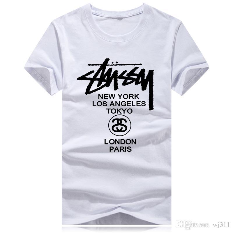 Heiße Verkaufs-O-Ansatz Art und Weise Sommer-T-Shirt Kurzarm Männer hochwertiges beiläufiges Tees Tops Marken-T-Shirts Herrenbekleidung