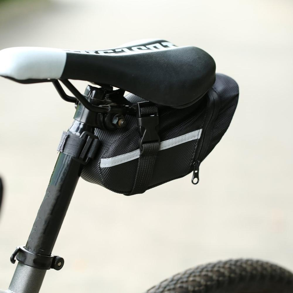 Waterproof Bicycle Saddle Bag MTB Mountain Bike Rear Back Under Seat Tail Bag US