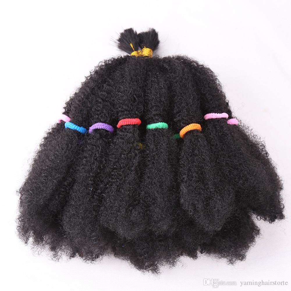 """Cheveux synthétiques de torsion méga Afro de mode 22 """"de cheveux de crochet de tresse pour des prolongements de cheveux de femmes noires"""