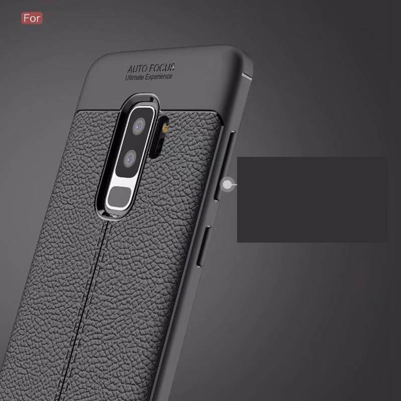 Coque Silicone Gris pour Samsung Galaxy S9