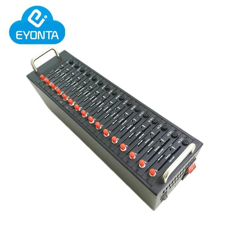 GSM-Modem-Pool 16 Ports Wavecom USB-Modem beim Befehl Q2403 Unterstützung IMEI-Änderung