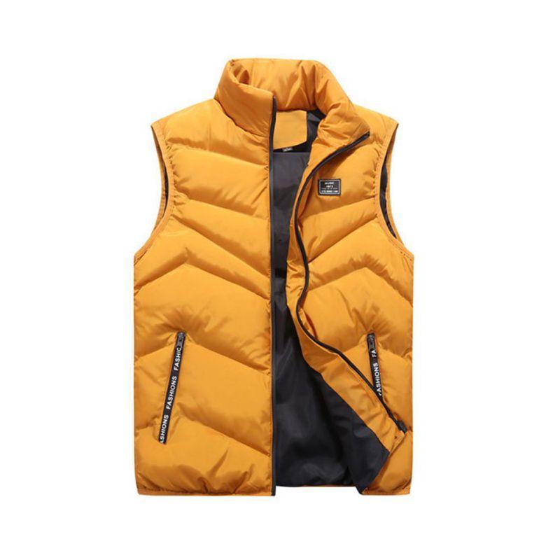 4XL мужская куртка куртка без рукавов зимняя мода повседневные пальто мужской хлопковый мягкий мужской жилет мужчины утолщенные жилет