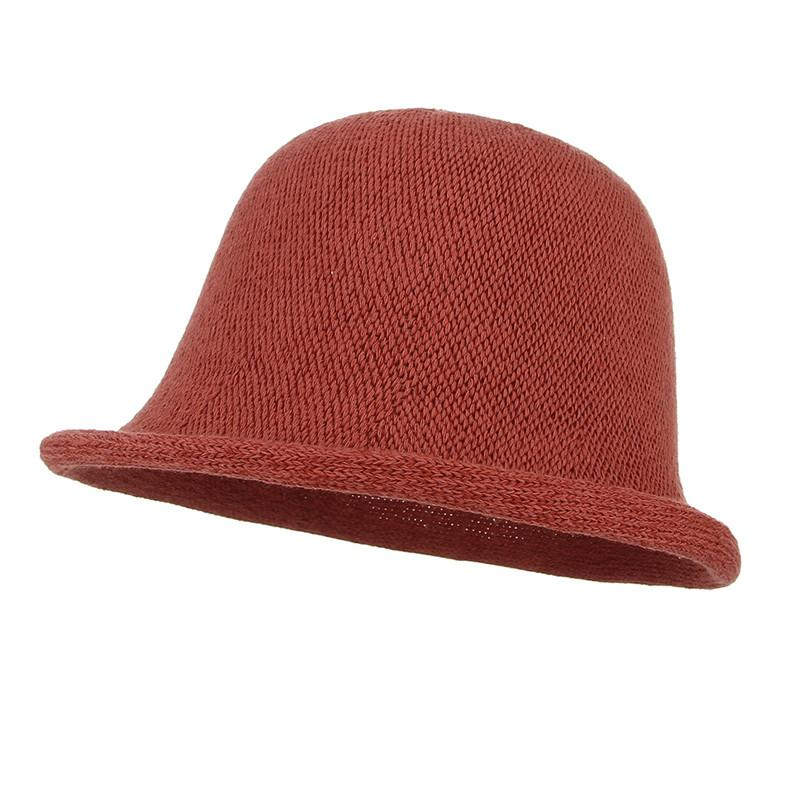 395b9e020ba Handmade Knitted Cotton Bucket Hats For Women Summer Sun Dome Hat Hollow  Out Fishing Fisherman Hat Bob Caps Beach Cap Sun Hat Straw Hats From  Sisan08, ...