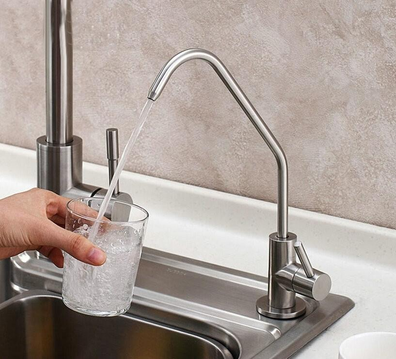2019 Drinking Water Filter System Tap Sus304 Stainless Steel Lead Free Kitchen Drinking Water Filter Tap Faucet From Baolv 41 58 Dhgate Com