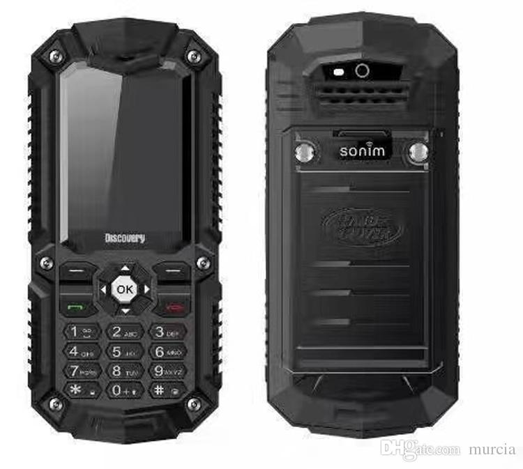 A11 Mobile Phone 2.8 inch Rugged Smartphone Waterproof Shockproof Dustproof Mobile Phone Cheapest With Big Speaker For Elder 2 Colors In St