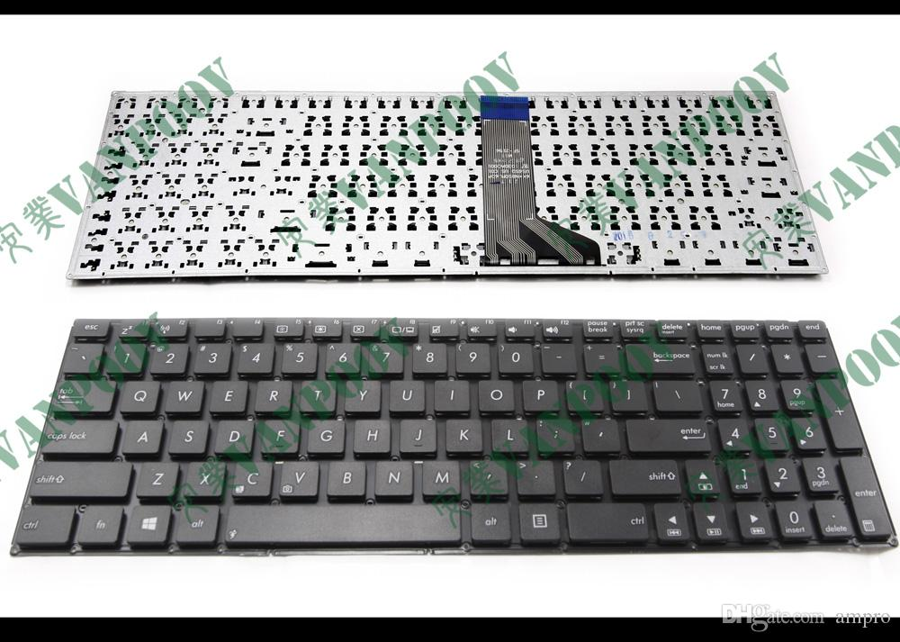 Nowy i oryginalny notebook Klawiatura do laptopa dla ASUS X551 X551M X551MA X551MAV F550 F550V X551C X551CA bez wersji US