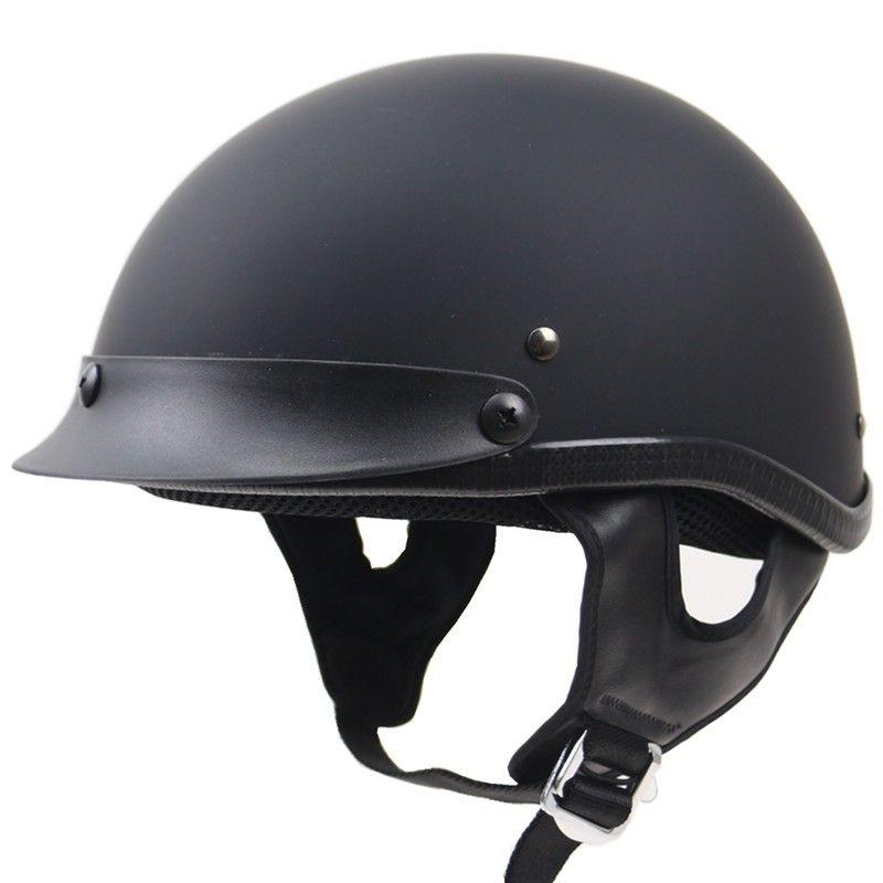 Harley style half face helmet Professional Open face motorbike helmet DOT approved biker's head gear