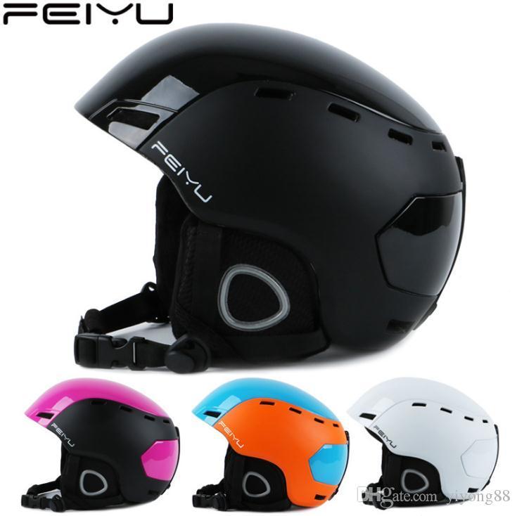 AS FISH Зимний спорт взрослых Лыжный шлем Оборудование Сноуборд Каски Верховая езда Skate лыжи Шлем роликовый каско, F-220