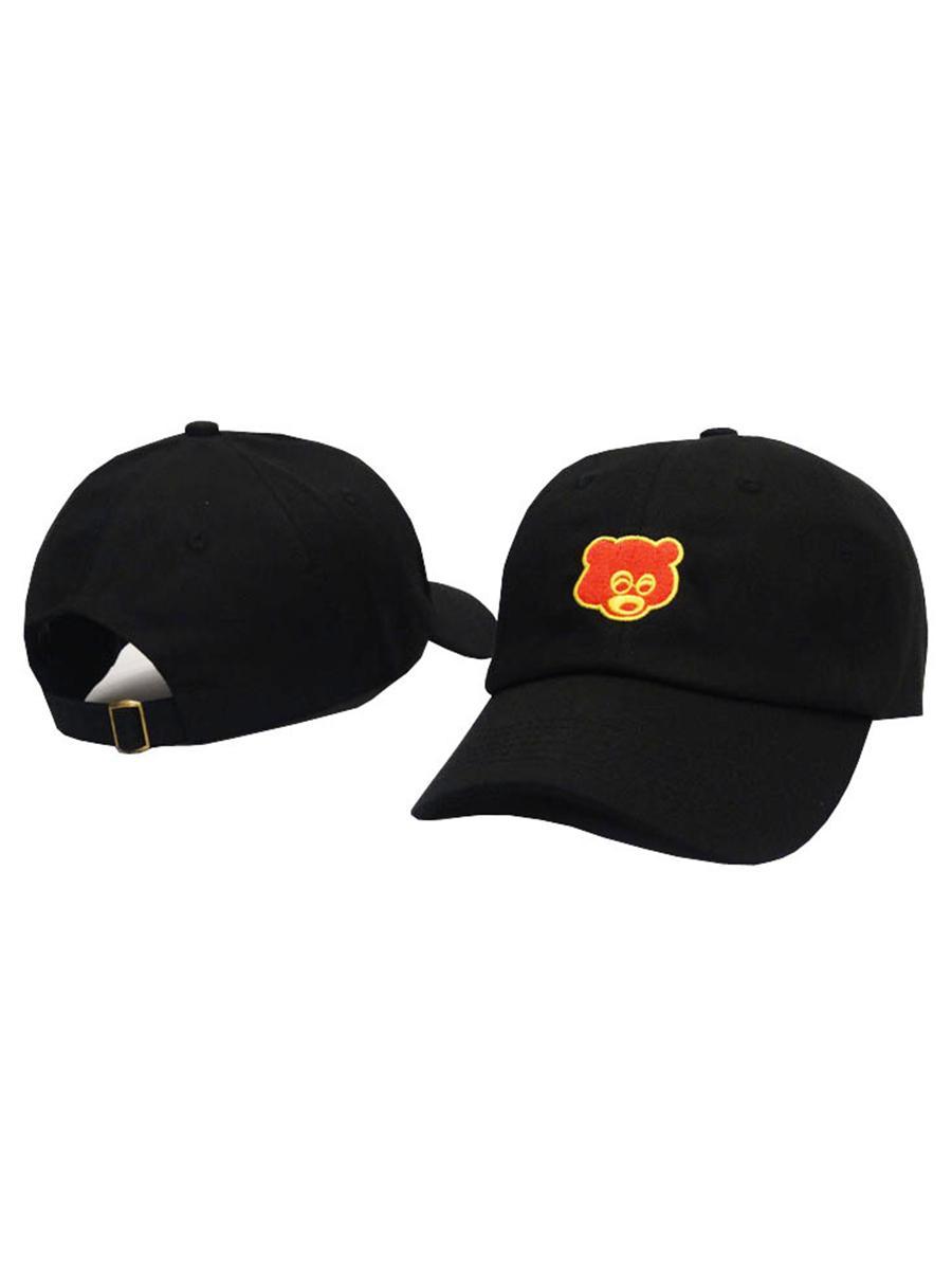2018 stile bone visiera curva casquette berretto da baseball donne gorras orso papà polo cappelli per uomo hip hop snapback caps di alta qualità 3 colori