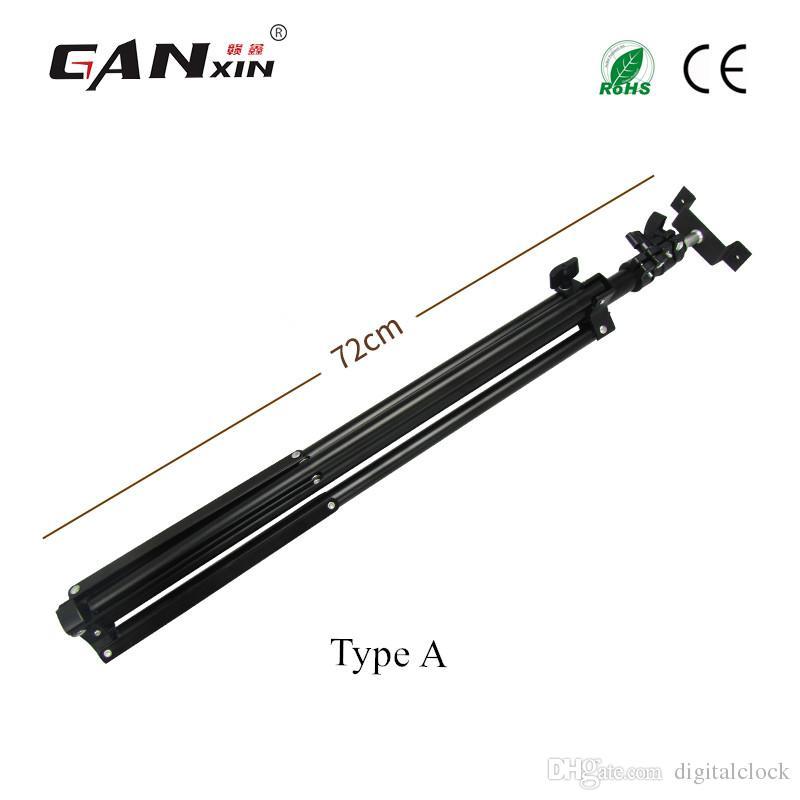 [Ganxin] بروتابلي الألومنيوم الخفيف العارض قوس الكاميرا ترايبود مع العالمي مرنة الروك ذراع تحمل حقيبة و led الموقت
