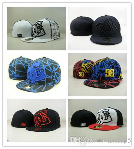 Newest Arrival DC fitted snapbacks team hats football baseball caps 2018 outdoor sports caps top quality headwears factory price