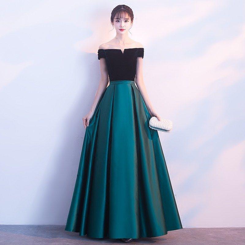 Compre Vestidos De Noche Elegantes Vestidos Formales Largos Para Las Mujeres Con Cordones De Corsé De Dama De Honor Vestidos De Fiesta De Encaje Hasta