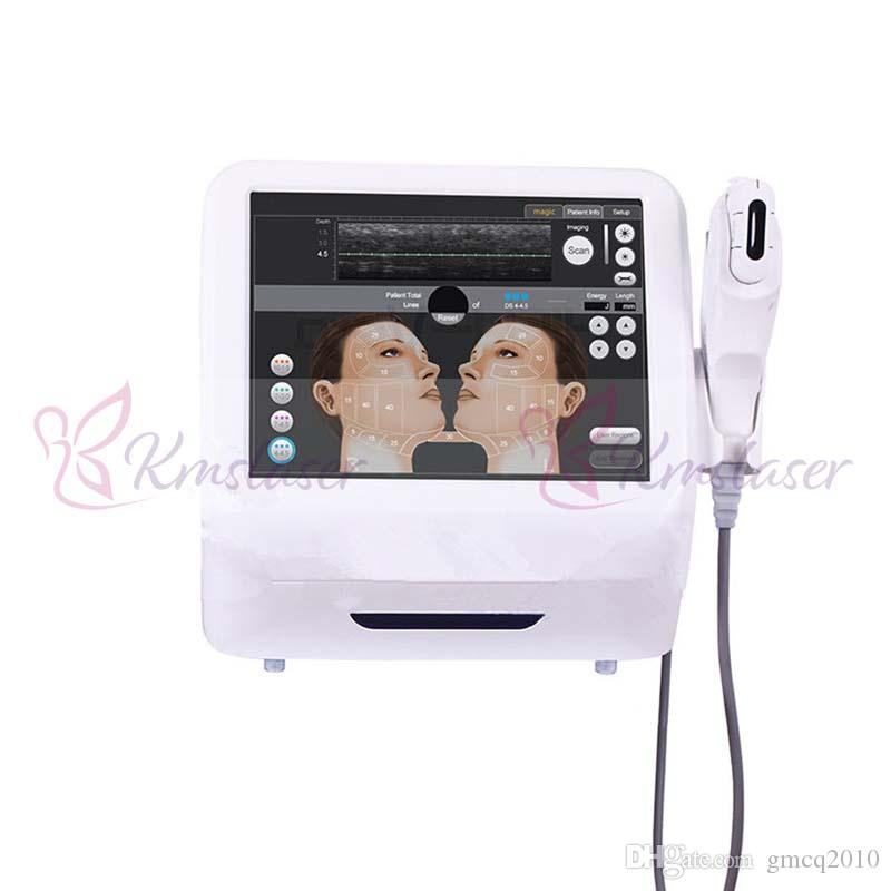 Medical Grade HIFU High Intensity Focused Ultrasound Hifu Face Lift Machine Wrinkle Removal With 5 Heads For Face And Body