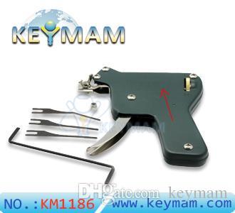 Outils de serrurier Strong EAGLE Lock Pick Pistolet Pick Upward Lock Picks Tools Upward pour les portes européennes Serrurier Livraison gratuite