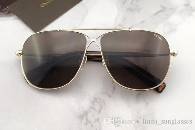 Güneş Yeni Güneş Gözlüğü FT Gözlük Gri TF Gözlük Gözlük Moda Sürüş Gözlük Moda Siyah Kutusunda NumTM180517-15 UIDHH