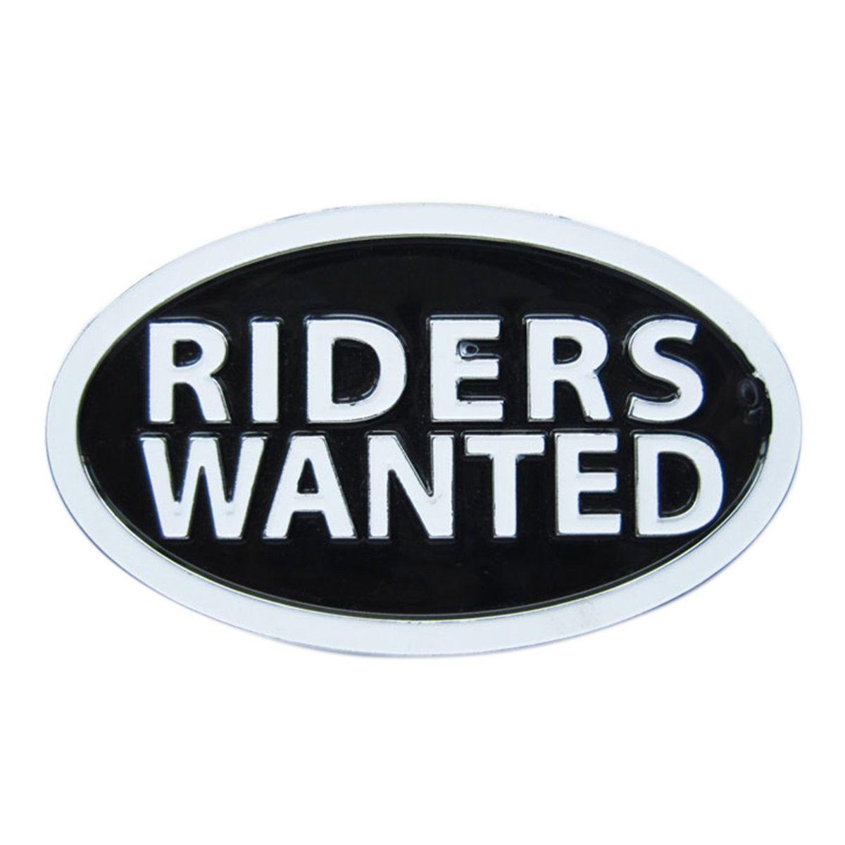 Nuevos letra Riders Wanted Belt Buckle Gurtelschnalle Boucle de ceinture