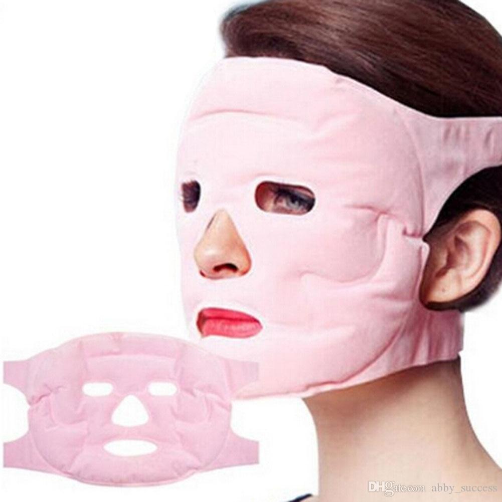 Nouveau gel à la tourmaline aimant Masque Facial Relax Minceur Beauté massage visage Masque mince Visage Enlever Soin Santé