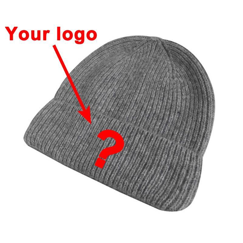 Avrupa pazarı toptan şapkalar giysi aksesuarı akrilik malzeme unisex yetişkin boyutu spor kış sıcak şapka özel kasketleri kap