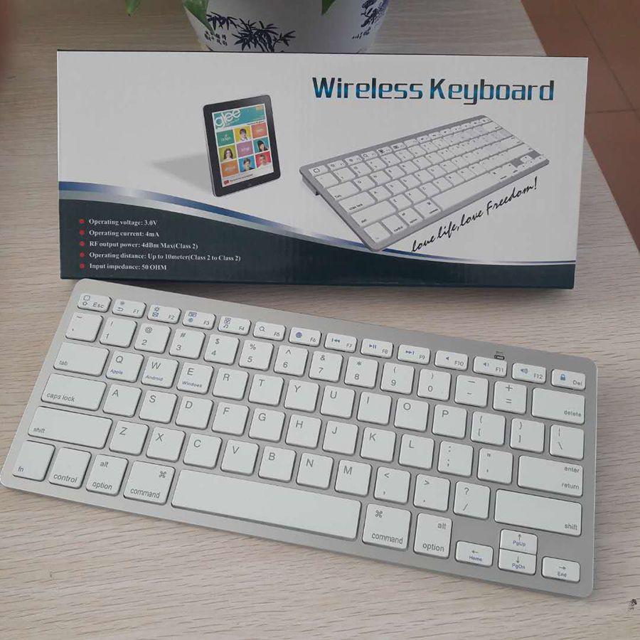 لوحة مفاتيح جديدة للهاتف المحمول Bluetooth V3.0 mini 78 لوحة مفاتيح لاسلكية محمولة فائقة الرقة للهاتف المحمول الذكي ipad fit ios windows android