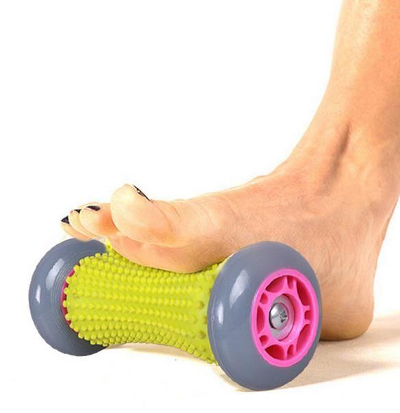 Leg massager Hand massage roller A foot relax wheel Massager massage wheel gear movement