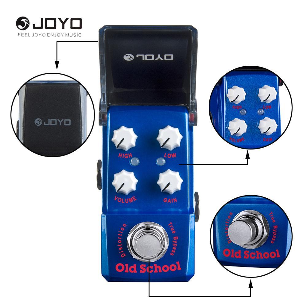 Joyo JF-313 Serie Ironman Vieja Escuela Distorsión Efecto Guitarra Eléctrica Pedal True Bypass