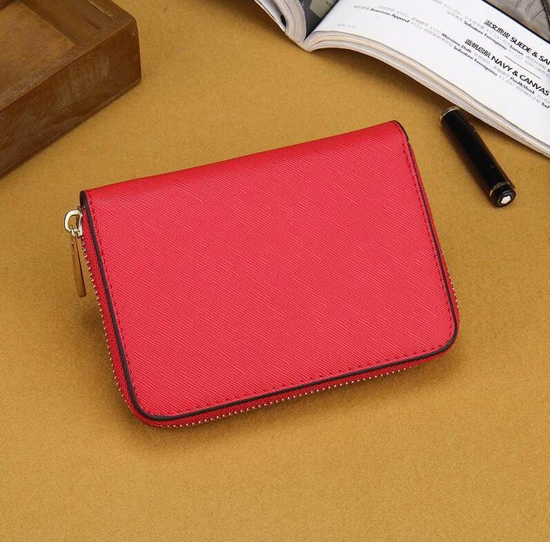 7 farben designer neue gute qualität billige frauen dame fashion classic designer strukturiertem leder mini geldbörse