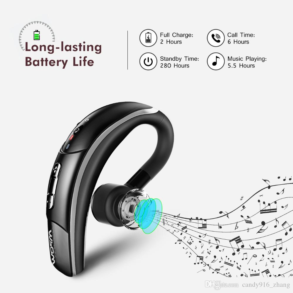 Wireless Bluetooth 4 1 Headset Headphones With Csr Chip Clear Voice Capture Tech Microphone Handsfree Single Ear Phone In Ear Monitors Noise Cancelling Earbuds From Candy916 Zhang 19 98 Dhgate Com