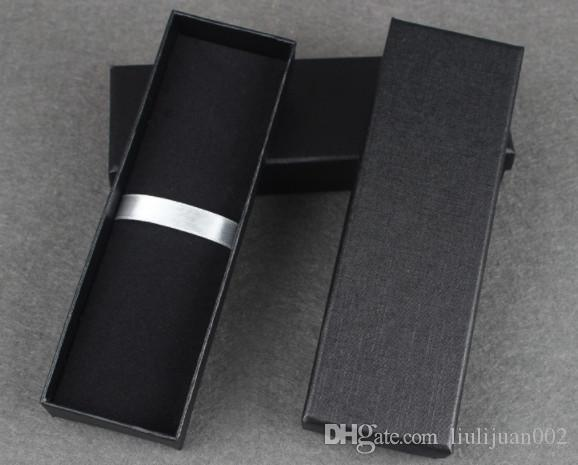 Heaven and earth covered pencil cases Black paper gift box Universal pen box Can print logo