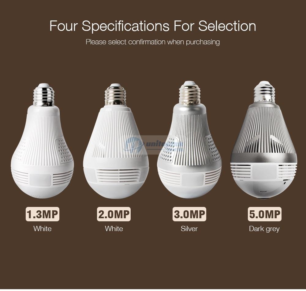 02 Bulb Light IP Camera