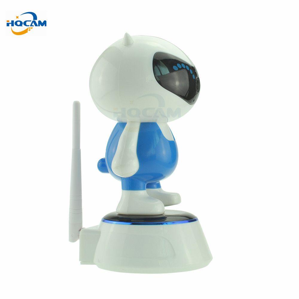HQCAM 1080P 2.0MP WIFI IP 카메라 무선 IR 컷 나이트 비전 양방향 오디오 PTZ 감시 카메라 P2P 클라우드 모바일 앱보기