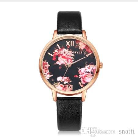 hot selling casual leather strap women watches retro bracelet watch ladies quartz watch clock reloj mujer erkek saat