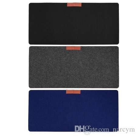Large Gaming Mouse Pad Mat Office Desk Mat Modern Table Wool Felt Keyboard Pad Mousepad for Laptop Computer