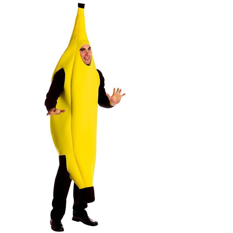Sexy Cosplay Engraçado Sexy Banana Traje Dos Homens Adultos Jogo Fantasia Roupas adereços Partido Decorações Novidade Halloween Carnaval de Natal S920
