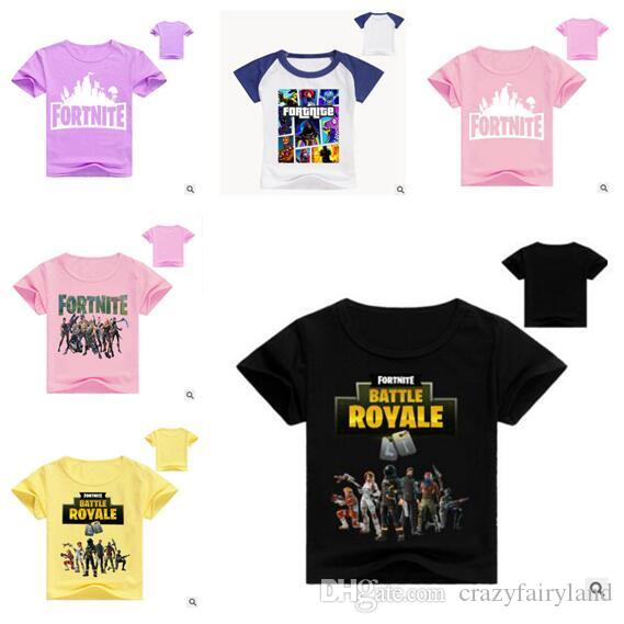 88ceab2b Kids Clothes 66 Styles Summer T Shirts Fortnite Battle Kids Shirt Royale  Legend Gaming Pattern Tops Baby Girls Boys T Shirt Personalized Tee Shirts  For Kids ...