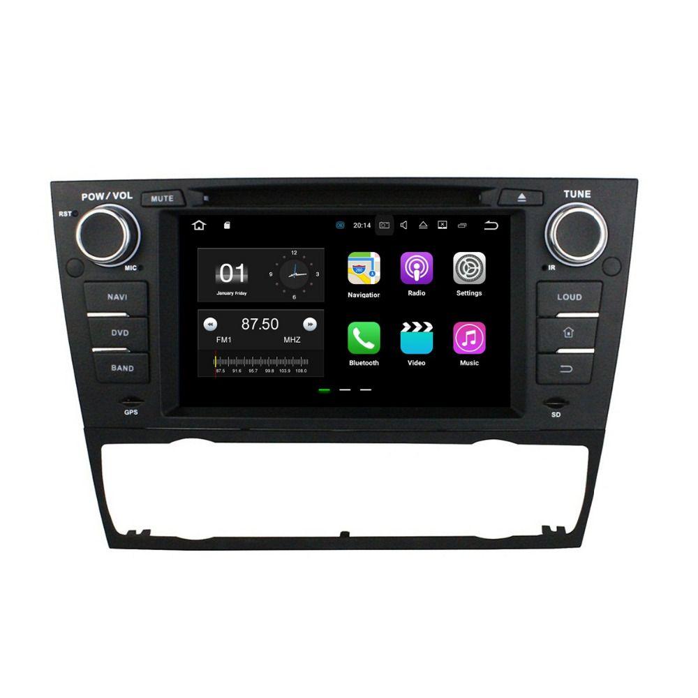 "1024 * 600 HD 7 ""أندرويد 7.1 سيارة راديو GPS رئيس وحدة الوسائط المتعددة سيارة دي في دي لسيارات BMW E90 E91 E92 E93 مع 2GB RAM بلوتوث 4G WIFI مرآة رابط"