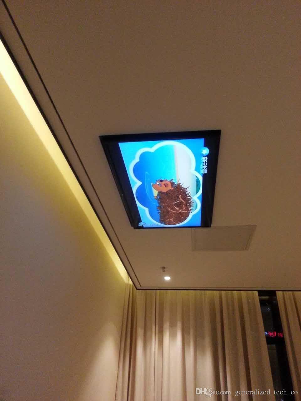 Choisir Sa Tv En Fonction De La Distance acheter eversion motorisé plafond Électrique led lcd tv ascenseur support  de suspension support de commande À distance fonction 110v 250v, fit pour  32