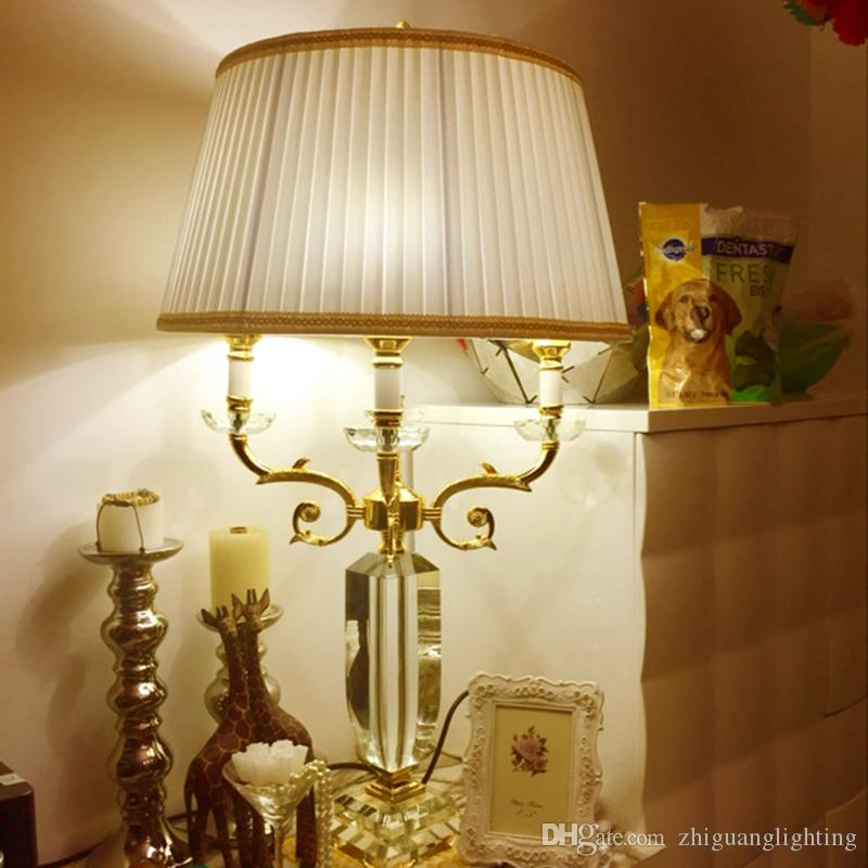 2020 European Style Living Room Table Lamp Large Sofa ...