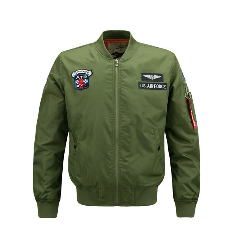Primavera e no Outono Zipper do New Men Jacket Masculino Casual Streetwear Hip Hop Brasão Men Roupa Plus Size 6XL J01