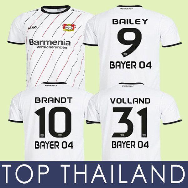 Acquista 18 19 Bayer 04 Leverkusen 30 ANNI Di Distanza Maglia Da Calcio 2019 New Bayer 04 Leverkusen Maglie BRANDT Havertz Alario Bailey Volland Shirt ...