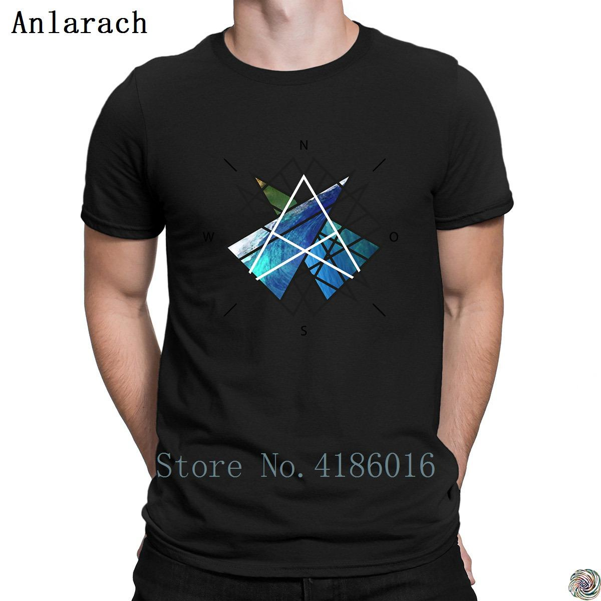 3D Printed T-Shirts Compass Rose Short Sleeve Tops Tees