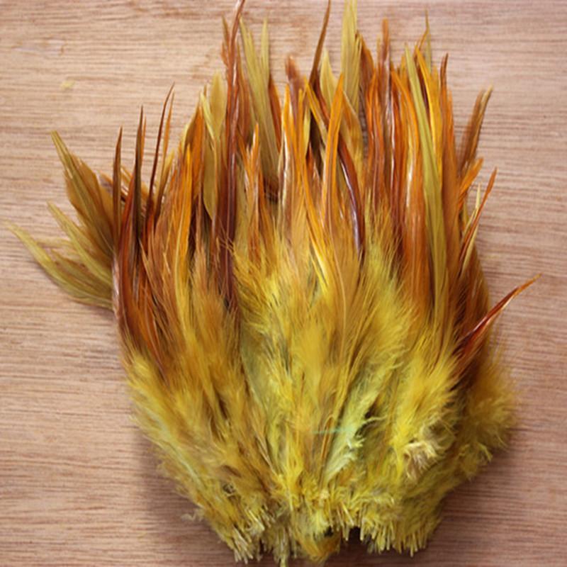 Plumas de pavo natural 10-15 cm / 4-6 pulgadas diferentes decorativos diy plumas de la decoración del partido 50 unids / lote