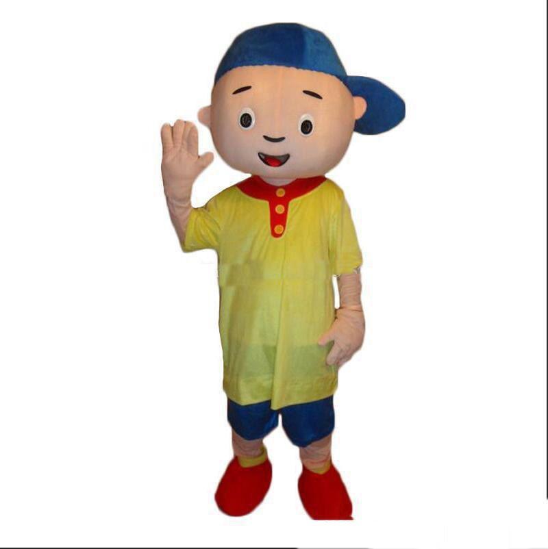 2018 Costume de mascotte Caillou de haute qualité Taille adulte Costume de mascotte Caillou Envoi gratuit