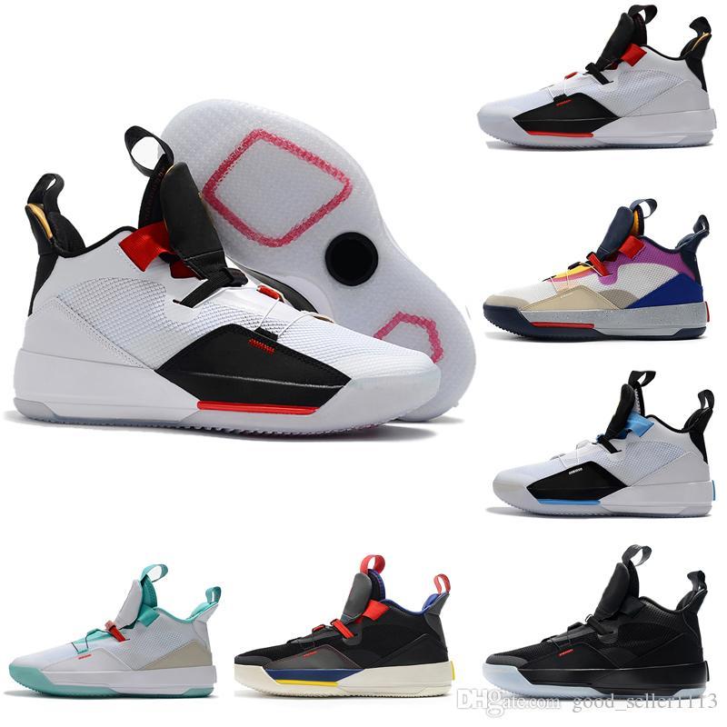 Con Box New 33 XXXIII 33s Mens Scarpe da basket di alta qualità Future of Flight Guo Ailun Tech Pack Outdoor Sneakers da ginnastica Taglia 40-46