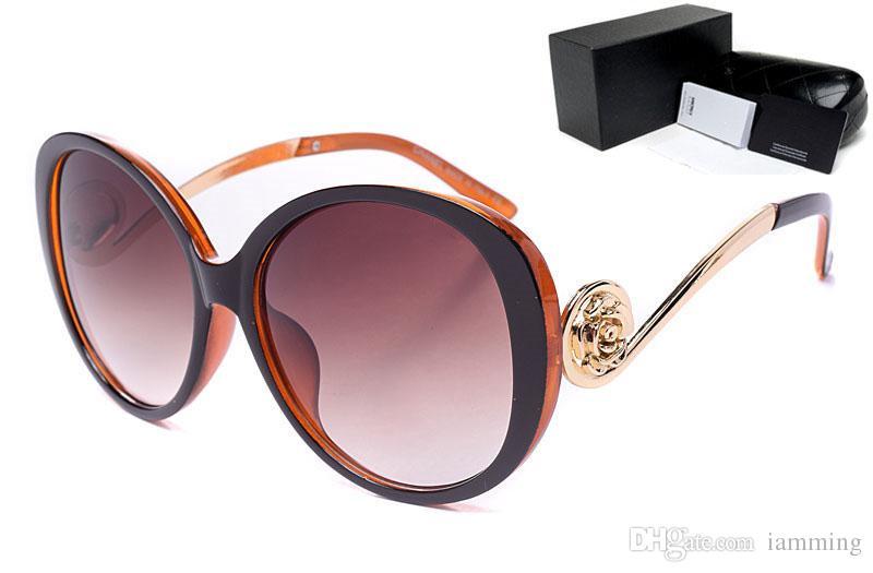 Sıcak satış moda marka tasarımcısı mens sürüş güneş gözlüğü kutusu ile kadınlar için UV400 moda güneş gözlüğü kadınlar ücretsiz kargo