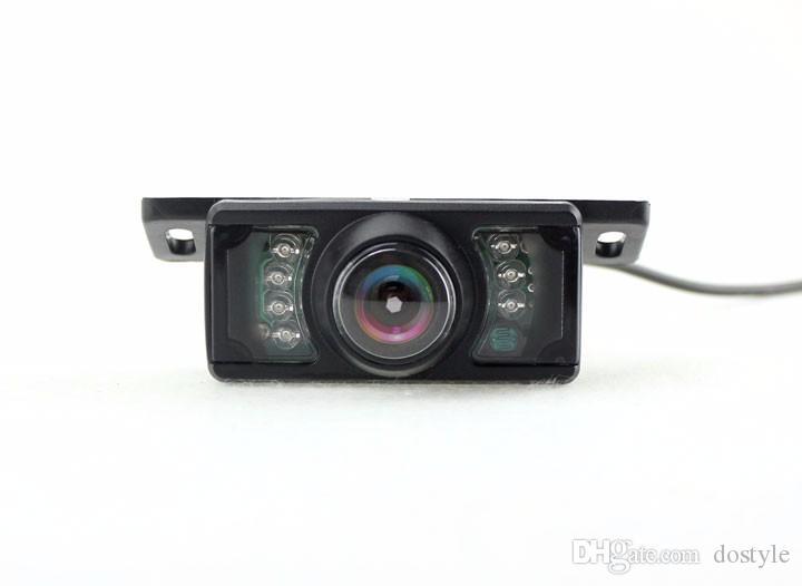 Backup Camera For Car Universal Waterproof Rear-view License Plate Car Rearview Camera Wide Viewing Angle Waterproof Reversing