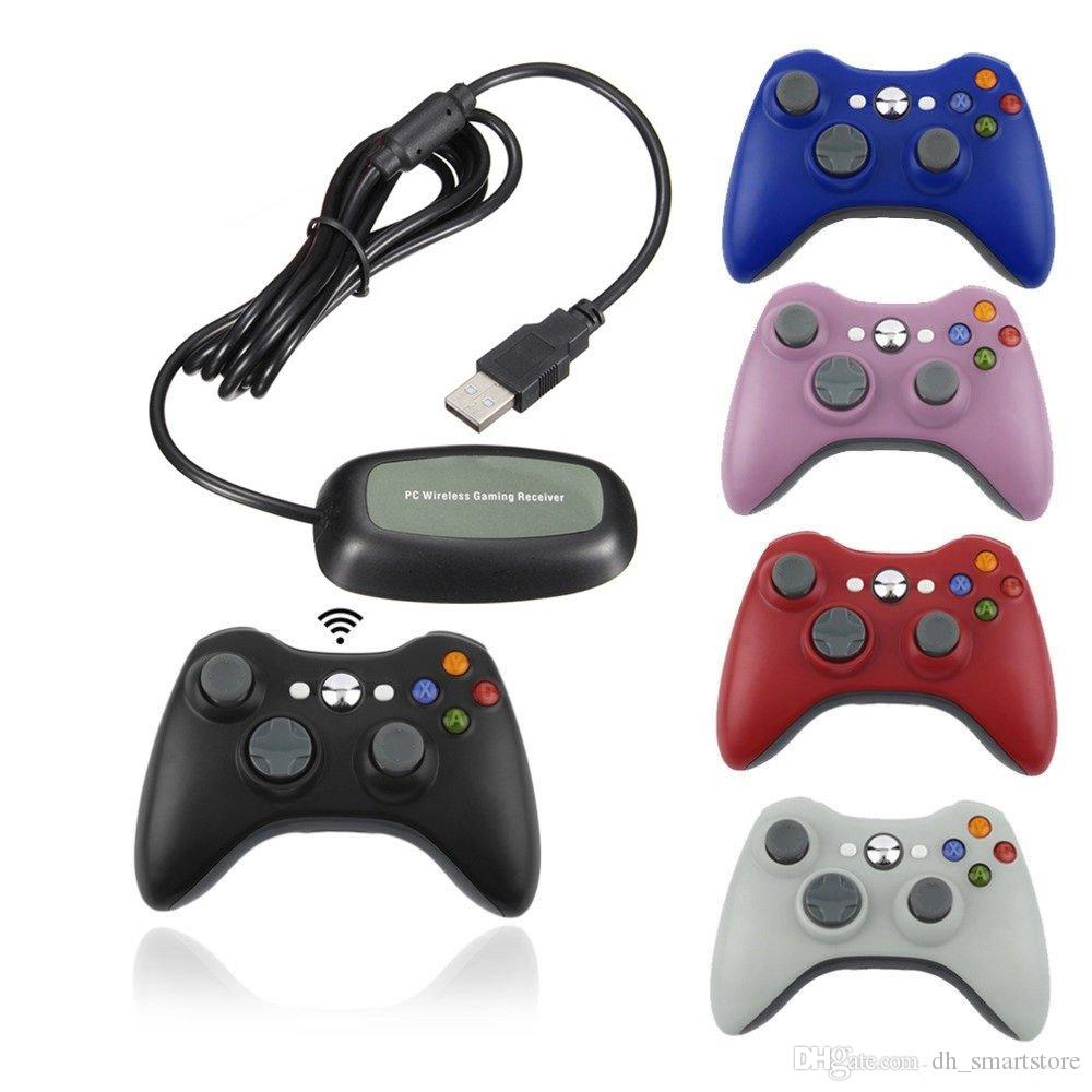 2.4G Wireless Remote Controller Gamepad For Xbox 360 Computer With PC Receiver Wireless For Microsoft Xbox360 Manette Controle